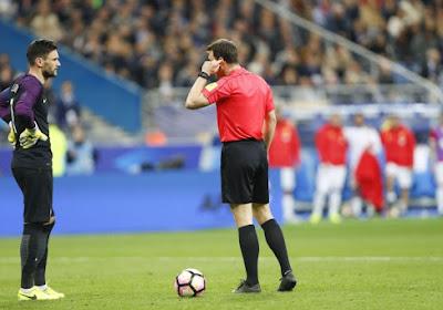 Un arbitre italien suspendu