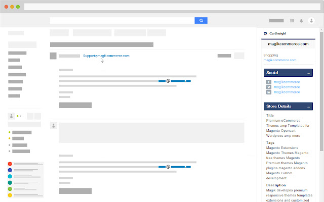 CartInsight for Gmail