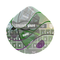 Stained glass GO Keyboard icon