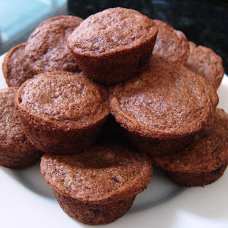 No Oil Or Butter Banana Muffins