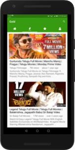 Telugu Hit Movies : New, Mid & Old Films Free App Download For Android 2
