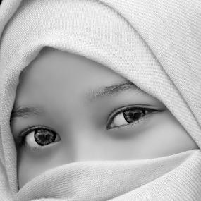 by Sandi Kun - Black & White Portraits & People