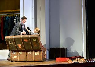 Photo: Wien/  Theater in der Josefstadt: AM ZIEL von Thomas Bernhard. Inszenierung Cesare Lievi. Premiere am 12.3.2015.  Christian Nickel, Therese Lohner. Foto: Barbara Zeininger