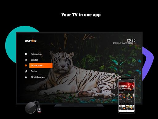 Zattoo - TV Streaming App  screenshots 20