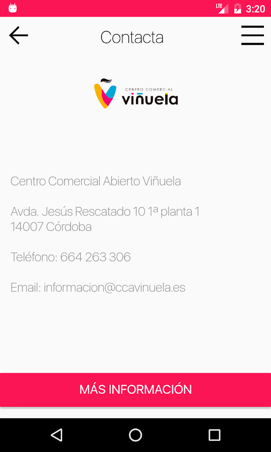 CCA Viñuela.- screenshot