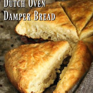 Dutch Oven Damper Bread.