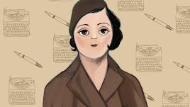 Ilustración de María Pérez Enciso, una de las mujeres que aparecen en el libro.
