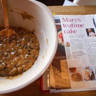 Mary's Tea Time Cake