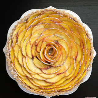 Peach Rose Tart Recipe