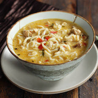 Coconut Curry Chicken Soup.
