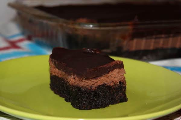 Death By Chocolate 3 Layer Brownies