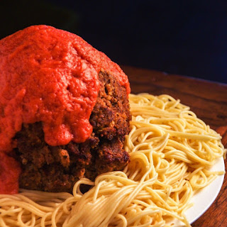 Gigantic Meatball Meatloaf | Cloudy with a Chance of Meatballs