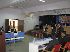 Photo: INTER CLASS TRIAL ADVOCACY MOOT COURT COMPETITION 2012 FINALS