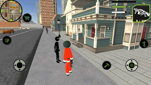 Code Triche Santa Claus Stickman Rope Hero Gangstar Crime APK MOD (Astuce) screenshots 4