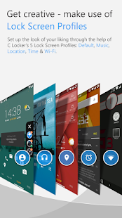 C Locker Free (Widget Locker) Screenshot