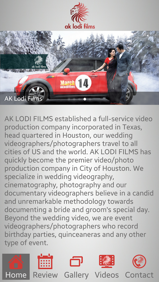 AK Lodi Films- screenshot