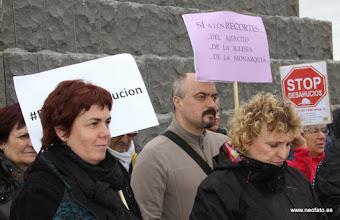 Photo: Marcha de la Dignidad. Huesca. 21.03.2015-Lectura comunicados e intervenciones junto al Memorial 545