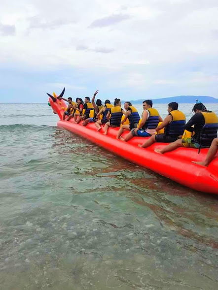 Dragon Boat Riding at El Canonero Beach Resort Puerto Galera