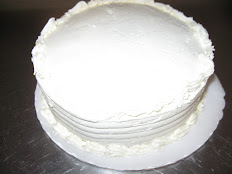 """Chocolate Cake with Vanilla Buttercream For 2 Layer 9"""" Cake"""