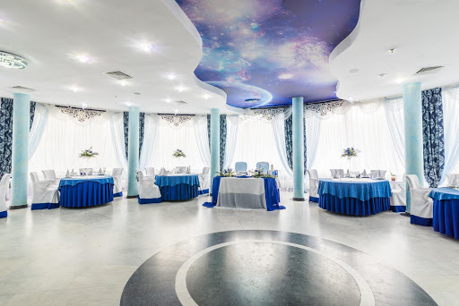 Зал «Синий» в ресторане Любить по-русски для свадьбы