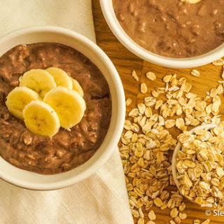 Overnight Brownie Batter Oatmeal.
