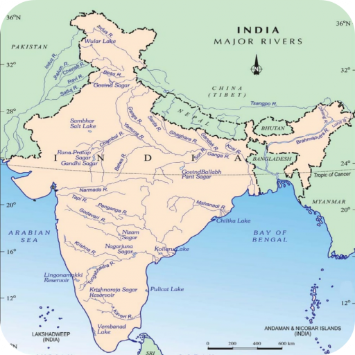 Rivers Map Of India India River Map   Apps on Google Play
