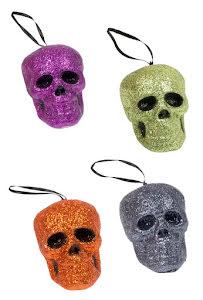 Glittriga dödskallar, flera färger
