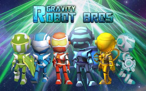 Télécharger Robot Bros Gravity APK MOD (Astuce) screenshots 1
