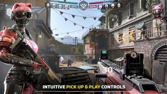 Modern Combat Versus: New Online Multiplayer FPS MOD Apk (Unlimited Money) 5