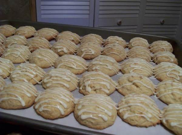 These Glazed Egg Nog Cookies Turned Out Great. . . Thanks So Much,dee,  Here Is My Photo For You! . . Freda