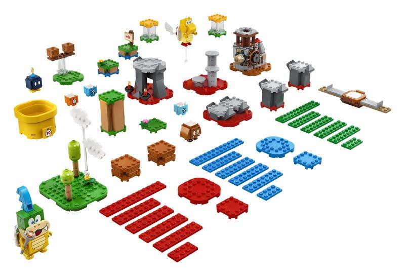 Contenido de Lego® 71380 Set de Creación: Tu propia aventura