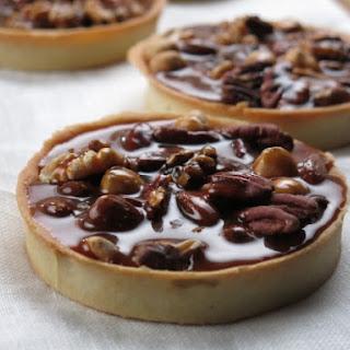 Salted Caramel Nut Tart