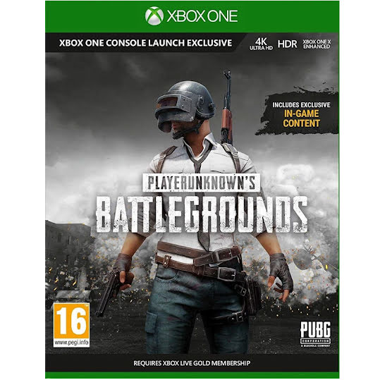 Player Unknown's: Battlegrounds 1.0 (Xbox One)