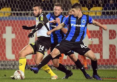 Le Club de Bruges espère éviter une intervention chirurgicale pour l'un de ses joueurs majeurs