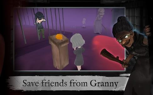 Granny's house – Multiplayer horror escapes MOD (Ammo/Stones) 2