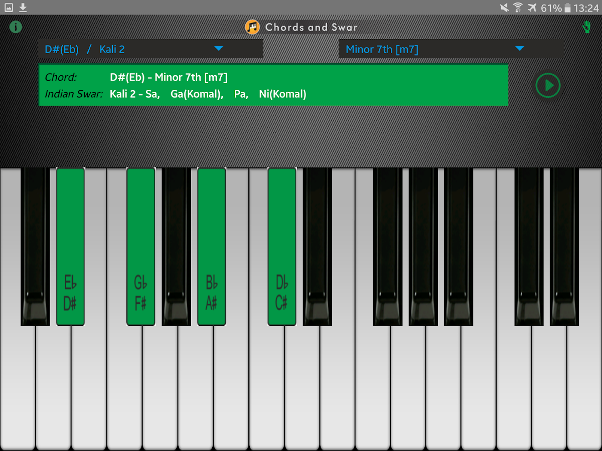 Chords and swar android apps on google play chords and swar screenshot hexwebz Gallery