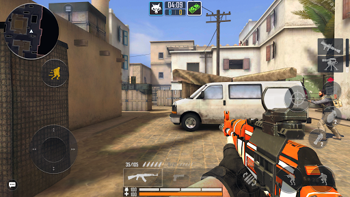 Fire Strike Online - Free Shooter FPS apktreat screenshots 1