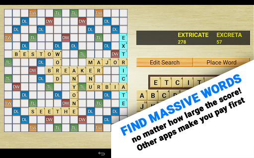 Word Breaker (Scrabble Cheat) 5.7.3 screenshots 7