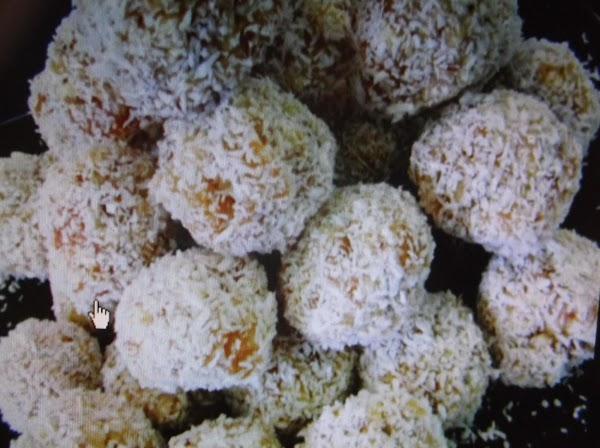 Apricot  Coconut Candy Recipe