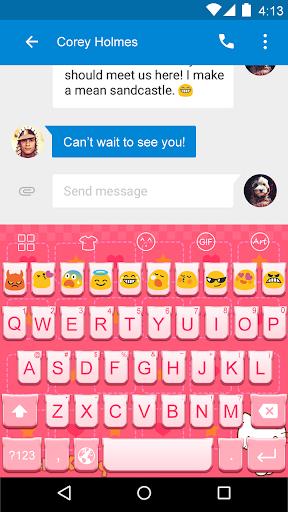 Kitty -Love Emoji Keyboard