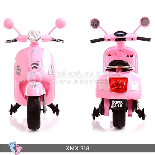 xe máy điện mini vespa cho bé