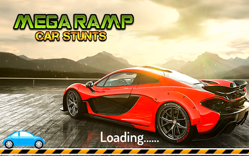 Mega Stunt Car Race Game - Free Games 2020 3.3 screenshots 1