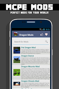 Dragon MOD For MCPE` screenshot 0