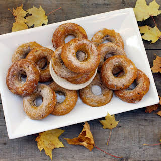 Pumpkin Spice (P.S) I love you, baked doughnuts.