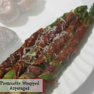 Easy Prosciutto Wrapped Asparagus.