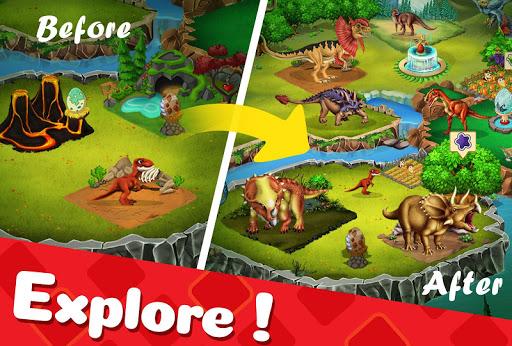 DINO WORLD - Jurassic dinosaur game 11.79 screenshots 10