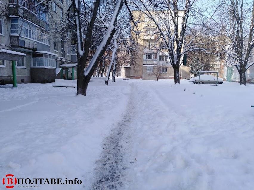 Полтаву вхурделило: ранок у місті після сильної негоди (ФОТО, ВІДЕО), фото-9