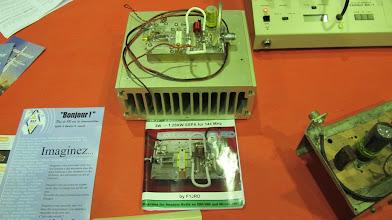 Photo: F6ETI, ampli de puissance 144 MHz à transistor