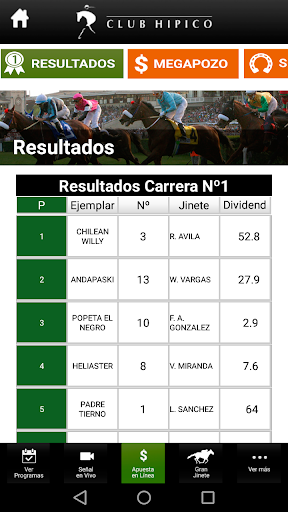 Club Hípico de Santiago screenshot 6