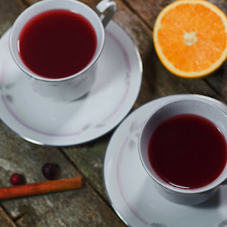 Cleansing Cranberry Tea.